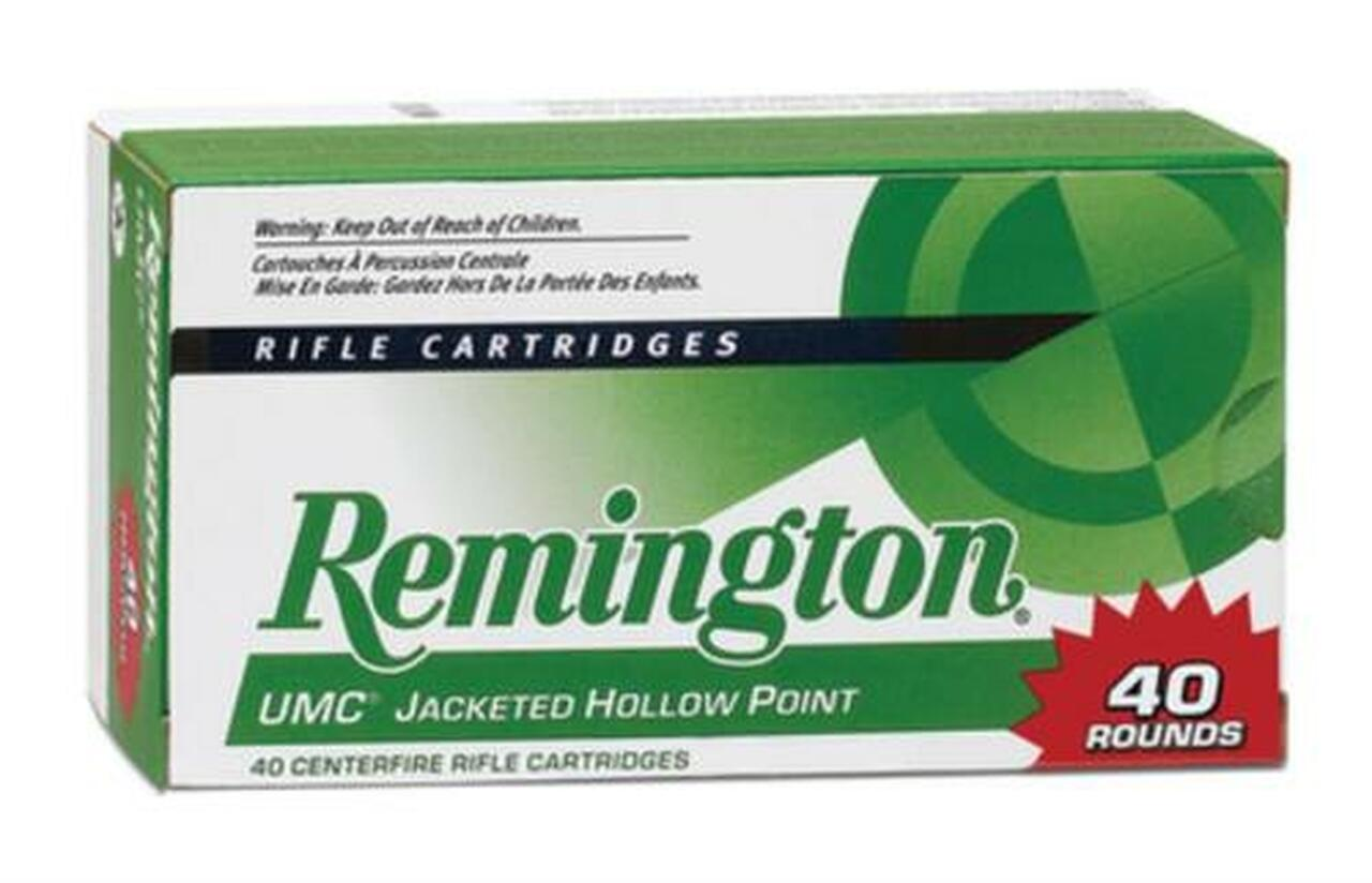 Image of Remington UMC .22-250 Remington 50gr, Jacketed Hollow Point 40rd/Box