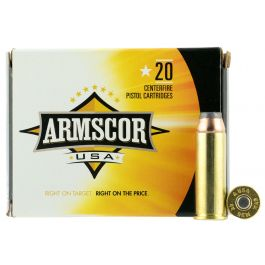 Image of Armscor 240 gr Jacketed Hollow Point .44 Mag Ammo, 20/box - FAC44M2N