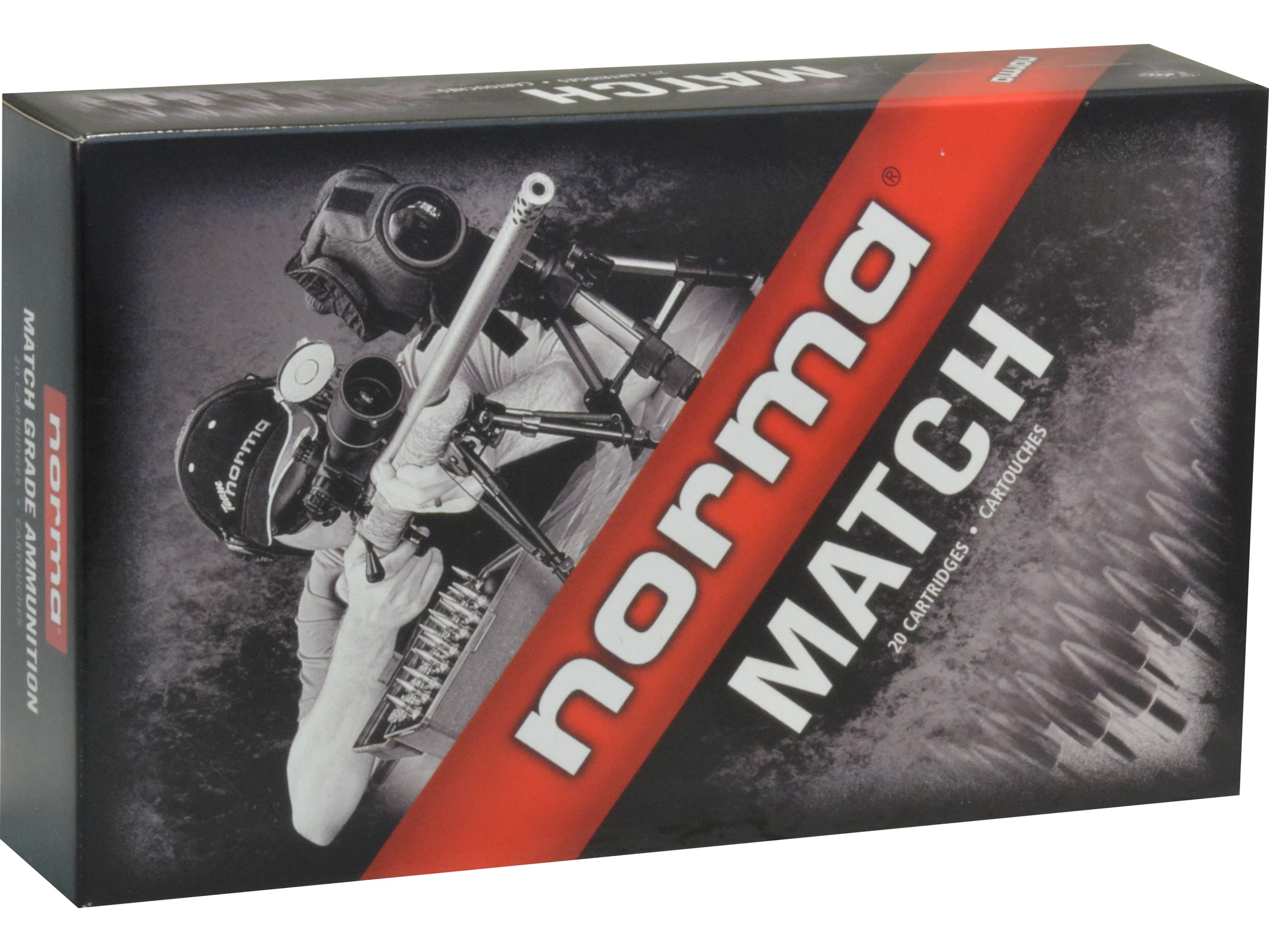 Image of Norma Match Ammunition 300 Norma Magnum 230 Grain Berger Hybrid Hollow Point Box of 20