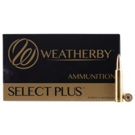 Image of Weatherby Select Plus 257 Weatherby Mag 110 grain AccuBond Rifle Ammo, 20/Box - N257110ACB