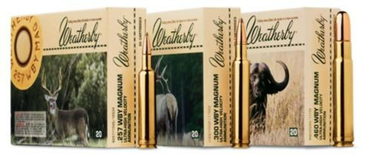 Image of Weatherby Ammo 257WBY 100 20/bx