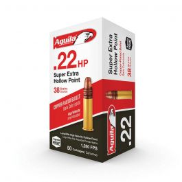 Image of Aguila Special Super Extra HP .22 LR 38 gr Copper-Plated Hollow Point Ammo, 50/box - 1B222335