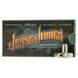 Image of Ammo Inc Jesse James Black Label 180 gr Hollow Point .40 S&W Ammo, 50/box - 40180HPJJ