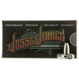 Image of Ammo Inc Jesse James Black Label 115 gr Hollow Point 9mm Ammo, 20/box - 9115HPJJ20