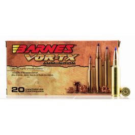 Image of Barnes Bullets VOR-TX 165 gr Tipped TSX Boat Tail .300 WSM Ammo, 20/box - 21536