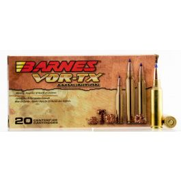 Image of Barnes Bullets VOR-TX 150 gr Tipped TSX Boat Tail .300 WSM Ammo, 20/box - 21567