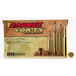 Image of Barnes Bullets VOR-TX 225 gr Tipped TSX Boat Tail .338 Win Mag Ammo, 20/box - 21542