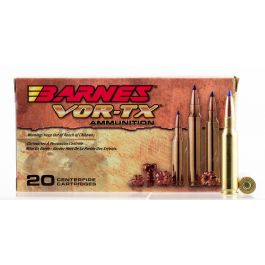 Image of Barnes Bullets VOR-TX 120 gr Tipped TSX Boat Tail 7mm-08 Rem Ammo, 20/box - 21561