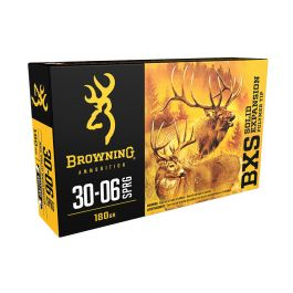 Image of Browning BXS 180 gr Terminal Tip .30-06 Spfld Ammo, 20/box - B192430061