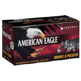 Image of Federal American Eagle Varmint and Predator 90 gr Jacketed Hollow Point 6.8mm SPC Ammo, 50/box - AE6890VP