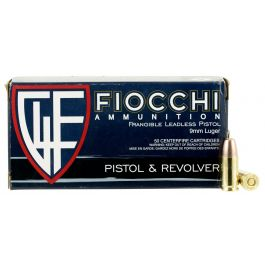 Image of Fiocchi Shooting Dynamics 100 gr Non-Tox Frangible 9mm Ammo, 50/box - 9FRANG