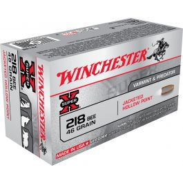 Image of Winchester Ammunition Super-X 46 gr Jacketed Hollow Point .218 Bee Ammo, 50/box - X218B