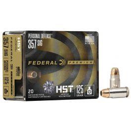 Image of Federal 125 gr HSTJHP .357 SIG Ammo, 20/pack - P357SHST1S