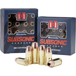 Image of Hornady Subsonic 180 gr XTPHP .40 S&W Ammo, 20/box - 91369