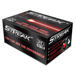Image of Ammo Inc STREAK .300 AAC Blackout 220gr TMJ Tracer Practice Ammo, 20 Rounds - 300B220TMC-STRK-RED
