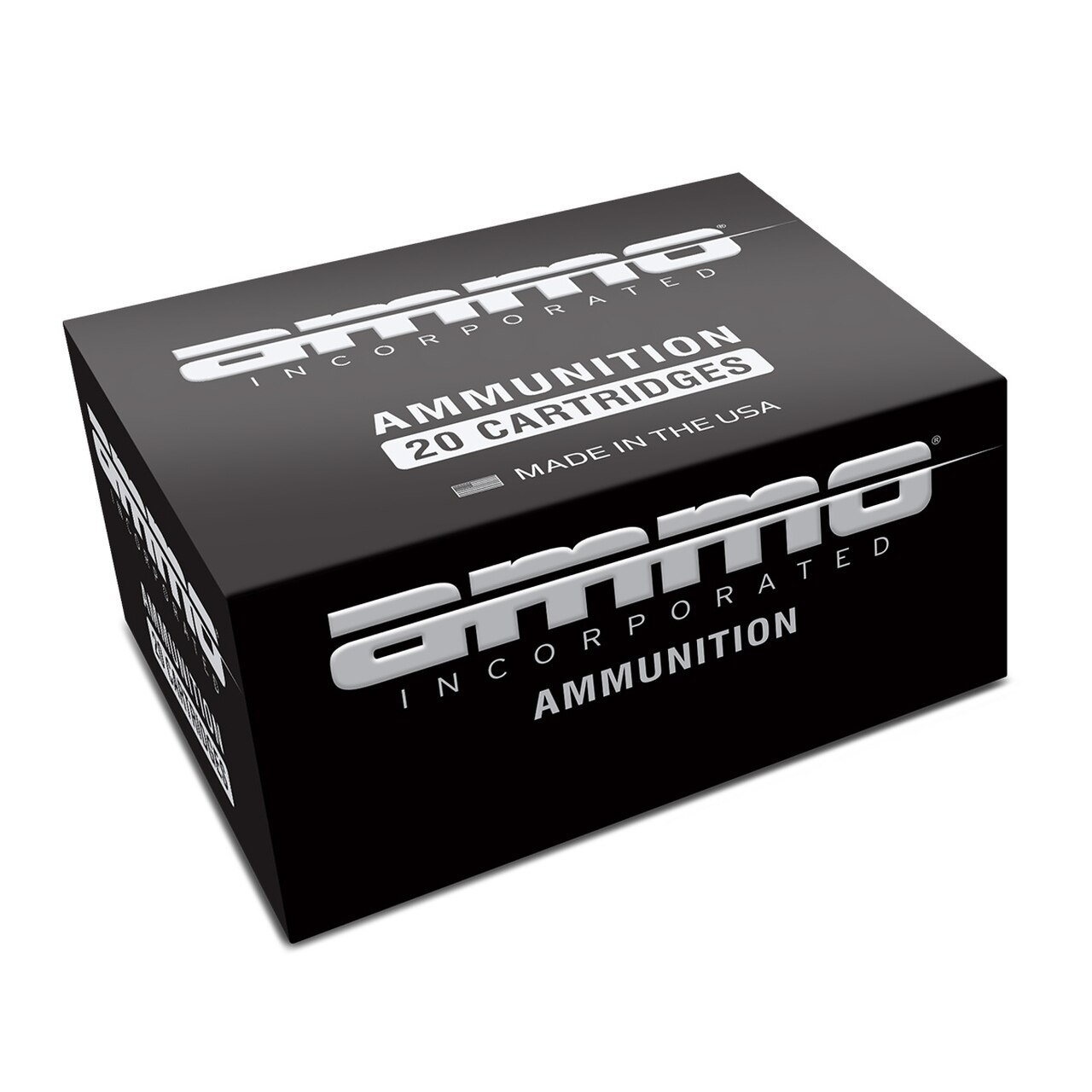 Image of Ammo Inc Black Label 9 mm 115 gr Hollow Point 20/Box 9mm