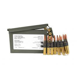 Image of Federal 50 BMG M33/M17 4:1 Ball and Tracer Linked Ammo, 100rd Can - ZSAMA557MOI