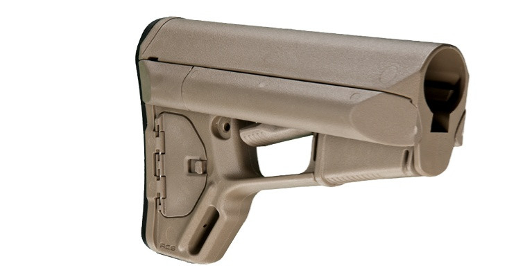 Image of Magpul Adaptable Carbine Storage Stock Fits AR-15 Mil-Spec Flat Dark Earth MAG370-FDE