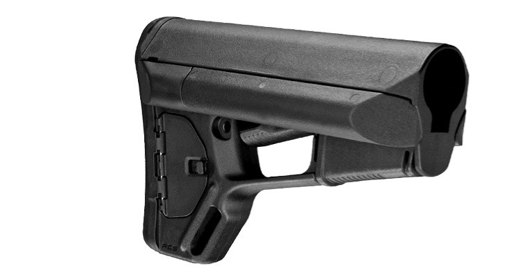 Image of Magpul Adaptable Carbine Storage Stock Fits AR-15 Non Mil-Spec Black MAG371-BLK