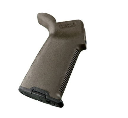 Image of Magpul MOE Grip Fits AR Rifles with Storage Compartment OD Green MAG416-OD